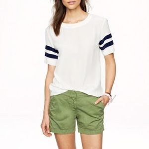 J. Crew chino short in classic green size 10